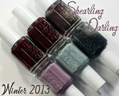 Essie Winter 2013 Shearling Darling nail polish collection