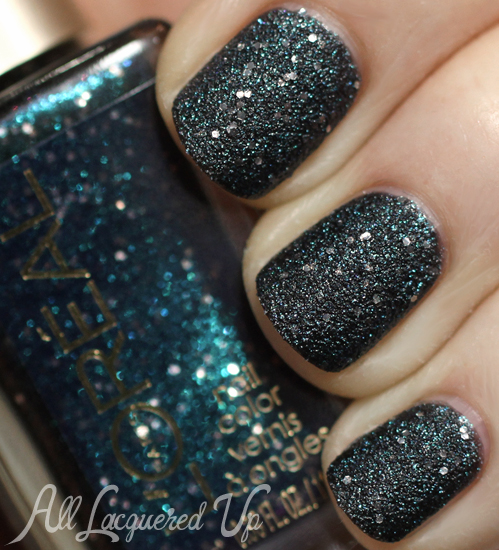 L'Oreal Hidden Gems textured nail polish
