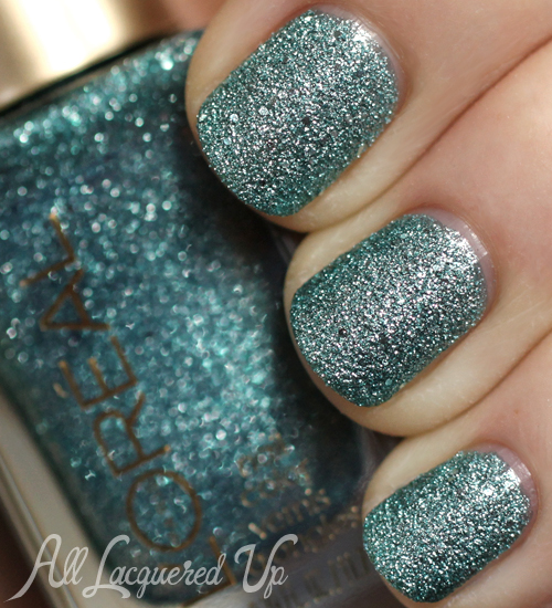 L'Oreal Pop The Bubbles textured nail polish-swatch