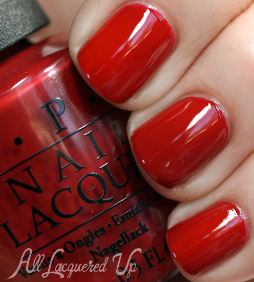 OPI First Date At The Golden Gate Nail Polish Swatch