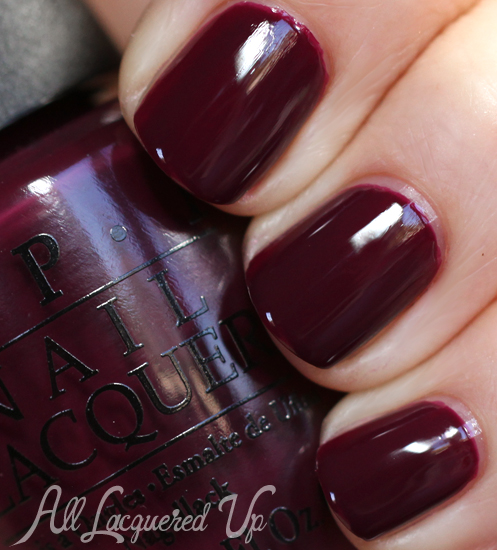 OPI In The Cable Car-Pool Lane nail polish swatch