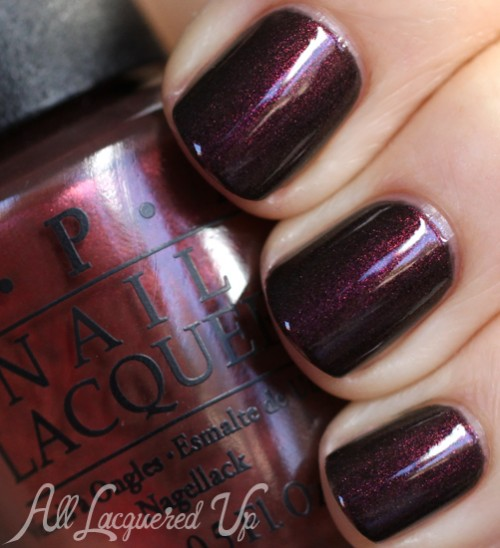 OPI Muir Muir On The Wall nail polish swatch