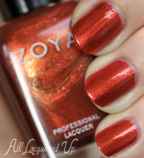 Zoya Channing nail polish swatch