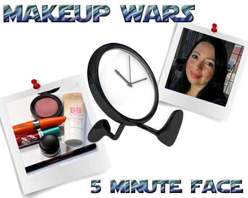 Makeup Wars - 5 Minute Face