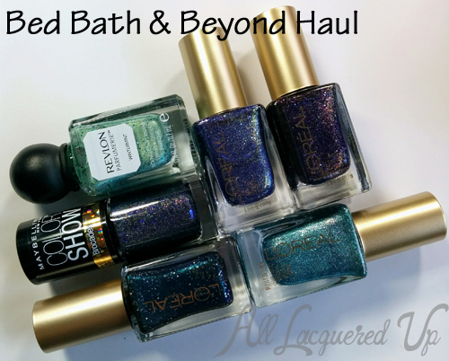 Nail polish haul from Bed Bath & Beyond - L'Oreal, Maybelline Revlon