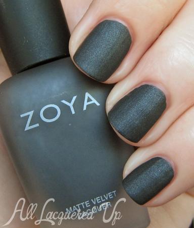 Zoya MatteVelvet Dovima nail polish