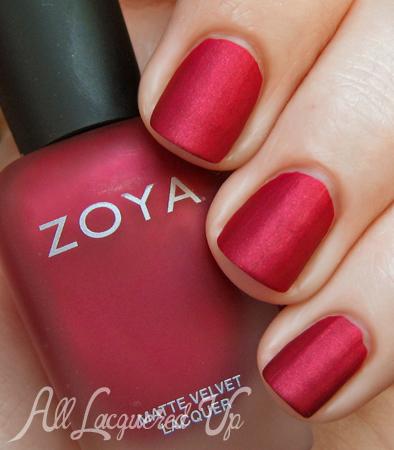 Zoya MatteVelvet Posh nail polish