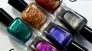 Zoya Satins Collection for Fall 2013 – Nail Polish Swatches & Review