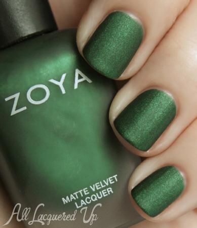 Zoya MatteVelvet Veruschuka nail polish