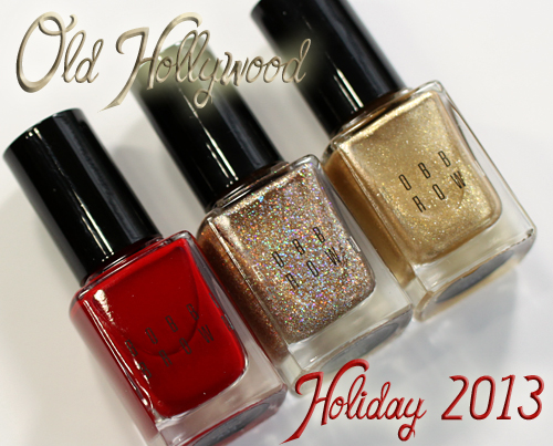 Bobbi Brown Holiday 2013 Old Hollywood nail polish