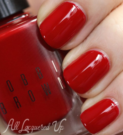 Bobbi Brown Siren Red nail polish from Holiday 2013