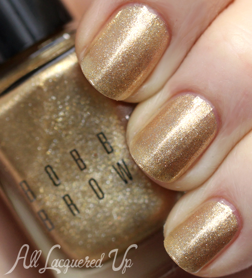 Bobbi Brown Solid Gold nail polish from Holiday 2013