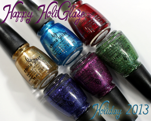 China Glaze Holiday 2013 - Happy HoliGlaze