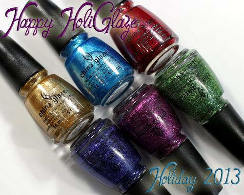 China Glaze Holiday 2013 - Happy HoliGlaze