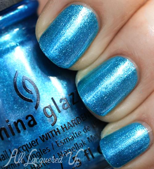 China Glaze So Blue Without You from Happy HoliGlaze