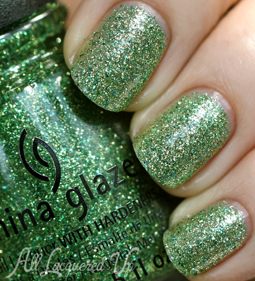 China Glaze This Is Tree-Mendous from Happy HoliGlaze