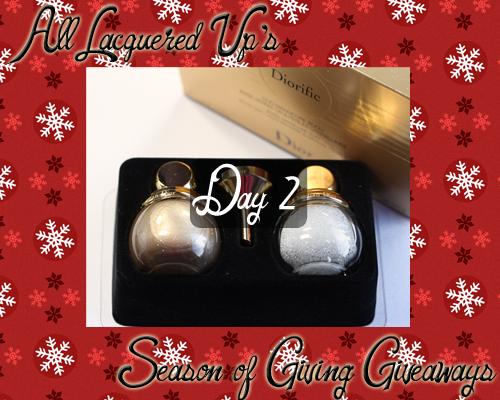 Dior Diorific Jewel Manicure Duo Giveaway