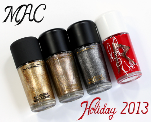 MAC Holiday 2013 Nail Polish from Divine Night and RiRi Woo