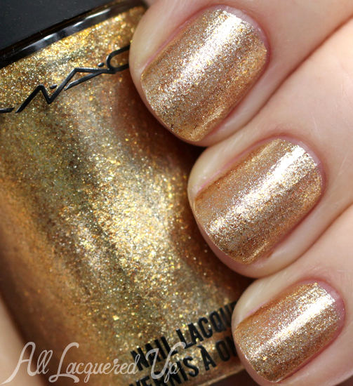 MAC Magnificent Feast nail polish from Indulge