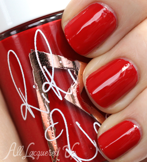 MAC RiRi Woo nail polish from RiRi Hearts MAC