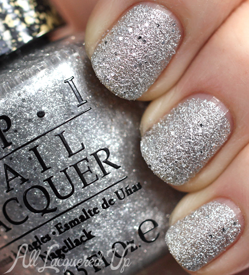 OPI It's Frosty Outside Liquid Sand from Mariah Carey Holiday