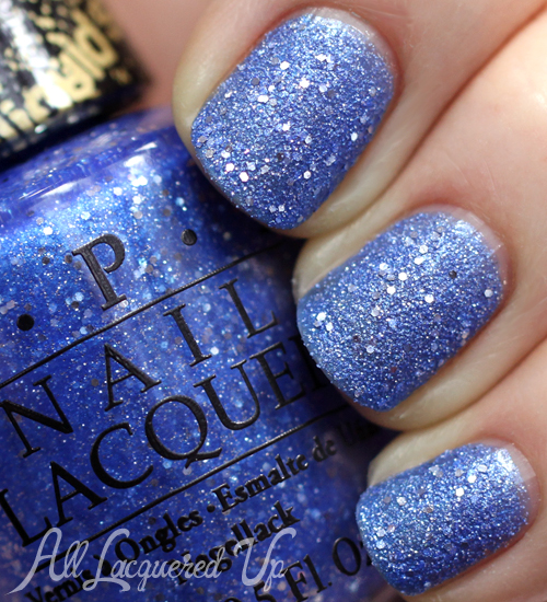 OPI Kiss Me At Midnight Liquid Sand from Mariah Carey Holiday