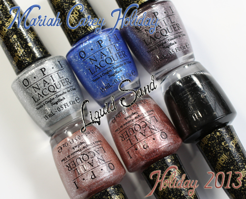 OPI Mariah Carey Holiday 2013 Liquid Sand