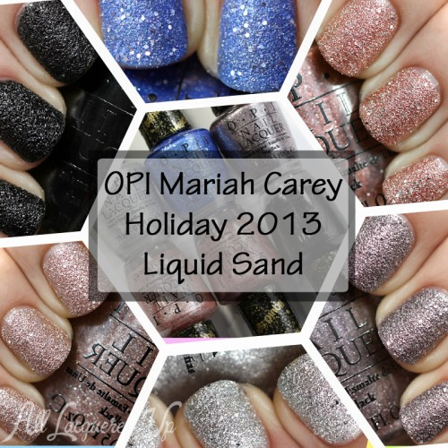 OPI Mariah Carey Holiday Liquid Sand