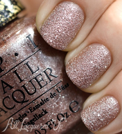 OPI Silent Stars Go By Liquid Sand from Mariah Carey Holiday