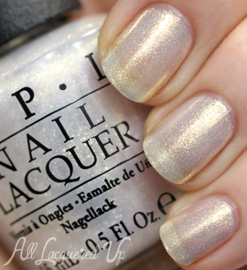 OPI Ski Slope Sweetie from Mariah Carey Holiday 2013