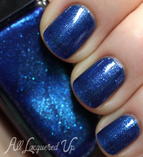 Sally Hansen Triple Shine Wavy Blue nail polish