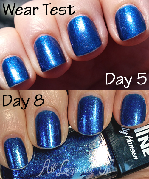 Sally Hansen Triple Shine Wear Test
