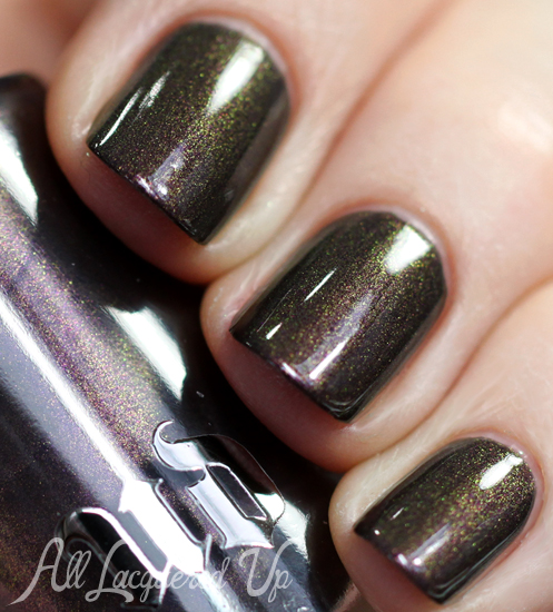 Urban Decay Blackheart nail polish from Holiday 2013