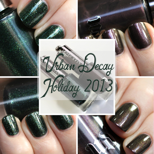 Urban Decay Holiday 2013 nail polish