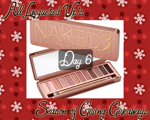Urban Decay Naked 3 Giveaway Naked3