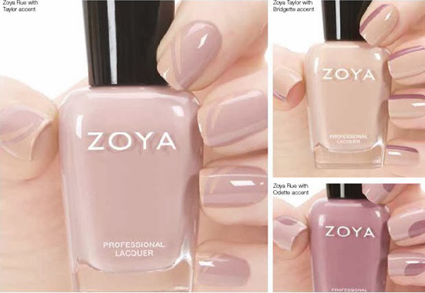 Zoya Naturel Nail Art
