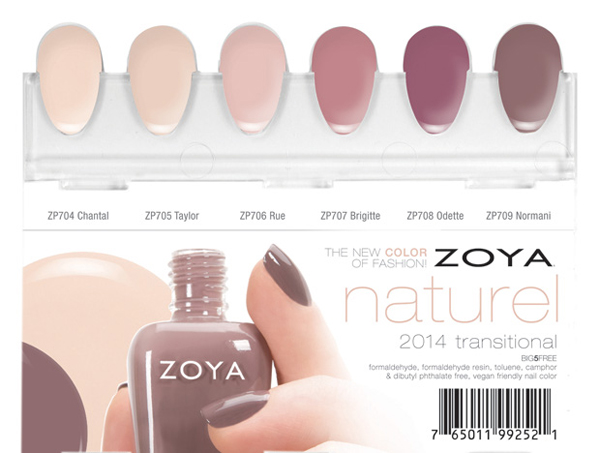 Zoya Naturel Nail Polish Swatch
