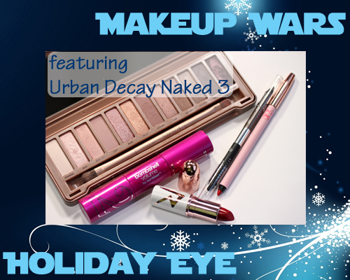 Makeup Wars - Holiday Eye featuring Urban Decay Naked 3