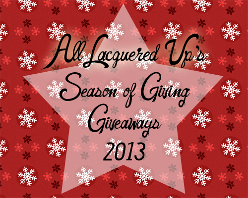 Holiday Nail Polish and Makeup Giveaways 2013