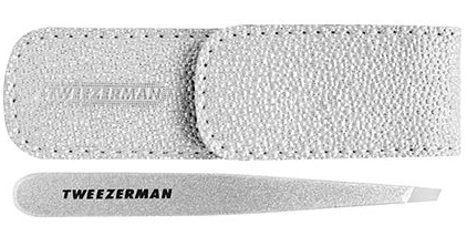 tweezerman-silver-shimmer-slant-tweezer
