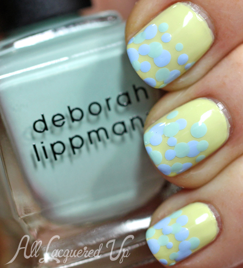 Deborah-Lippmann-Spring-2014-Polk-Dot-Nail-Art-1