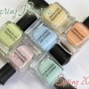 Deborah Lippmann Spring 2014 – Spring Reveries Swatches & Review