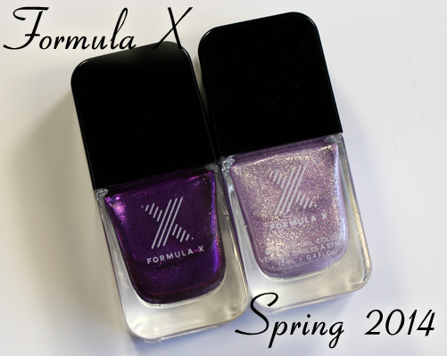 Formula X for Sephora – New Liquid Crystals and Celestials for Spring 2014