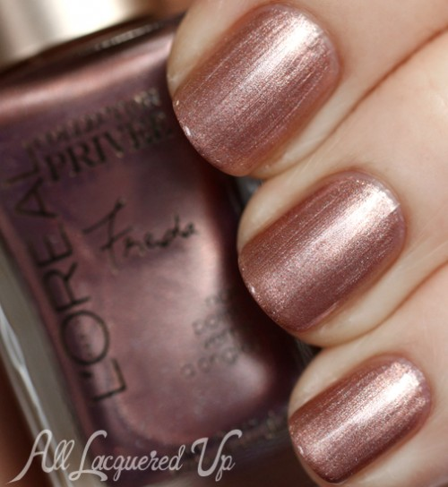 L'Oreal Frieda's Nude Collection Privee
