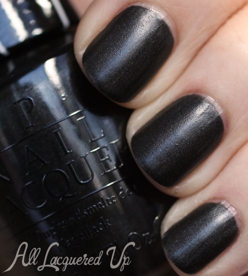 OPI 4 In The Morning satin nail polish from Gwen Stefani