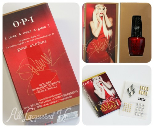 OPI Over and Over A-Gwen Packaging