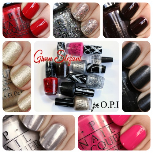 Gwen Stefani for OPI nail polish collection