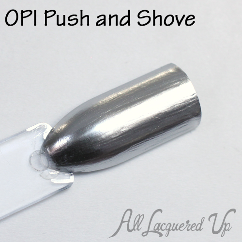 OPI Push and Shove chrome from Gwen Stefani