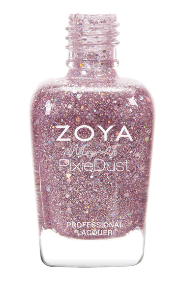 Zoya Magical Pixie, Holographic PixieDust, for Spring 2014 ... Zoya Magical Pixie
