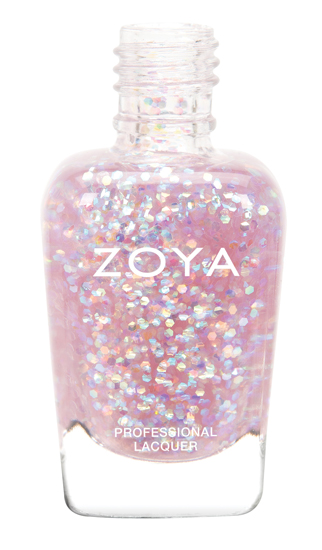 Zoya Monet glitter topper for Spring 2014